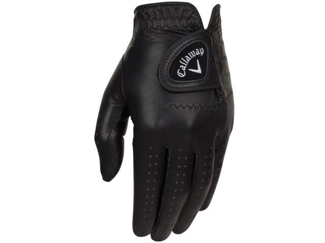 2016 Callaway Opti Color Black Golf Gloves LH Regular Large NEW