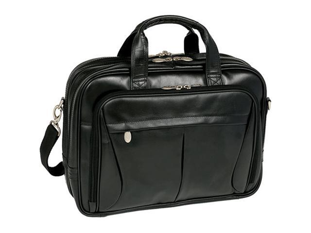 McKlein Pearson Leather Expandable Briefcase