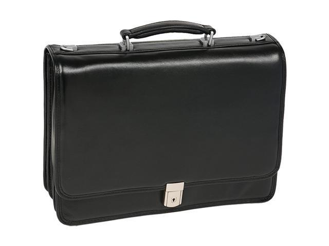 McKlein River North Leather Briefcase
