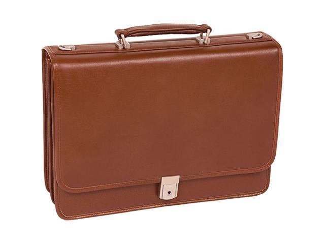 McKlein Lexington Leather Briefcase