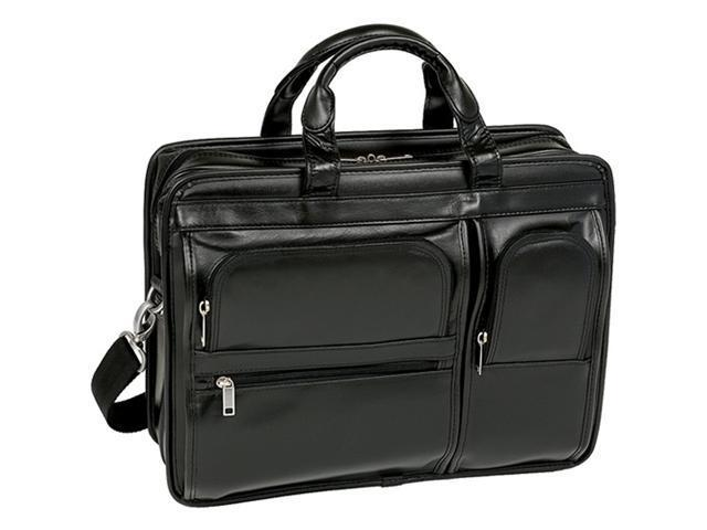 McKlein Hubbard Leather Double Compartment Case