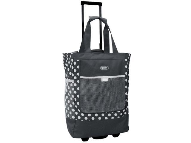 Olympia RS100 Rolling Shopper Tote