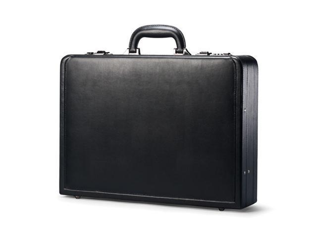 Leather Attache 17-7/8