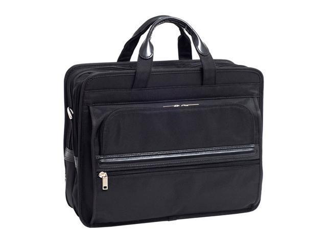 Mcklein Elston Nylon Double Compartment Laptop Case
