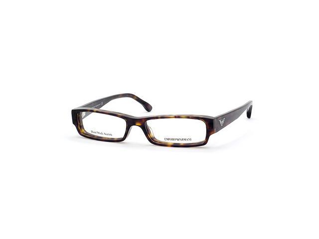 Emporio Armani 9318 Eyeglasses-In Color-Olive Amber-Size-50/15/140