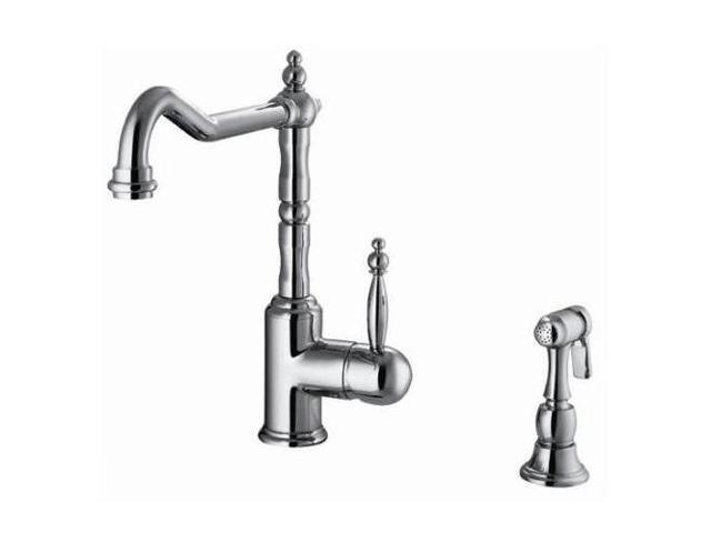 Ana Bath KF112860 Kitchen Faucet with Spray, PVD Brushed Nickel