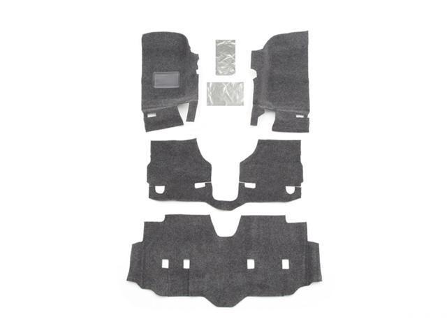 BedRug BRJK07F4 BedRug Floor Kit Fits 07-16 Wrangler (JK)