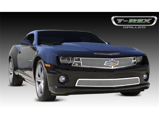 T-REX 2010-2012 Chevrolet Camaro (ALL) Upper Class Polished Stainless Mesh Grille 54027