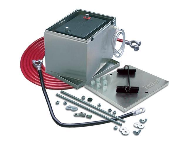 Taylor Cable 48103 Aluminum Battery Box