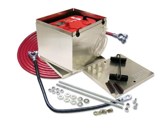 Taylor Cable 48204 Aluminum Battery Box