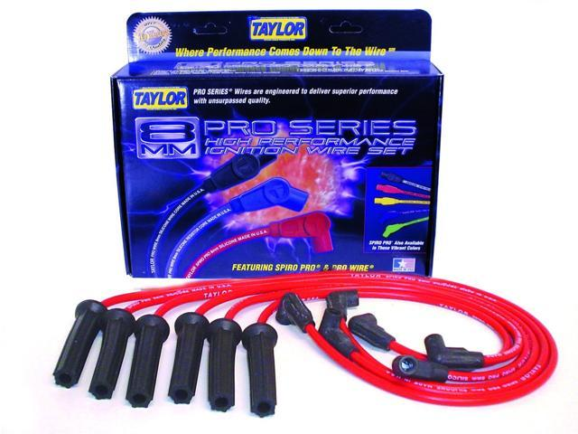 Taylor Cable 72210 8mm Spiro Pro; Ignition Wire Set