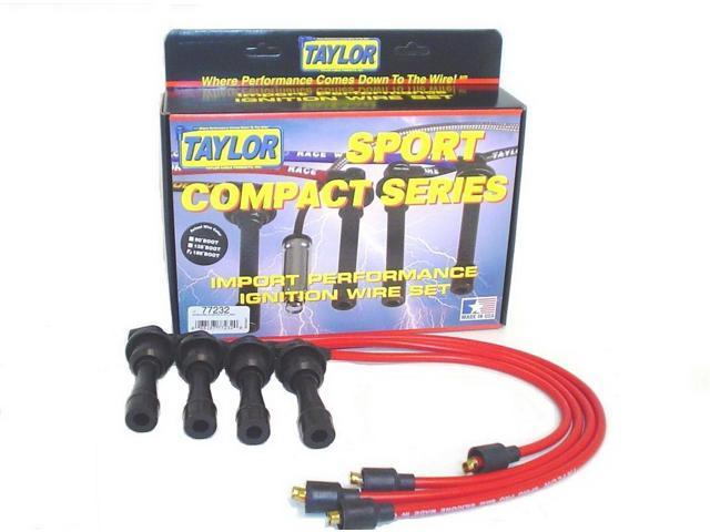 Taylor Cable 77232 8mm Spiro Pro; Ignition Wire Set