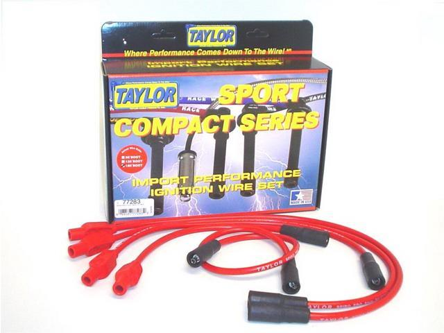 Taylor Cable 77283 8mm Spiro Pro; Ignition Wire Set Fits 93-00 Cabrio Golf Jetta