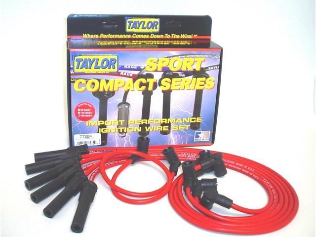 Taylor Cable 77284 8mm Spiro Pro Ignition Wire Set