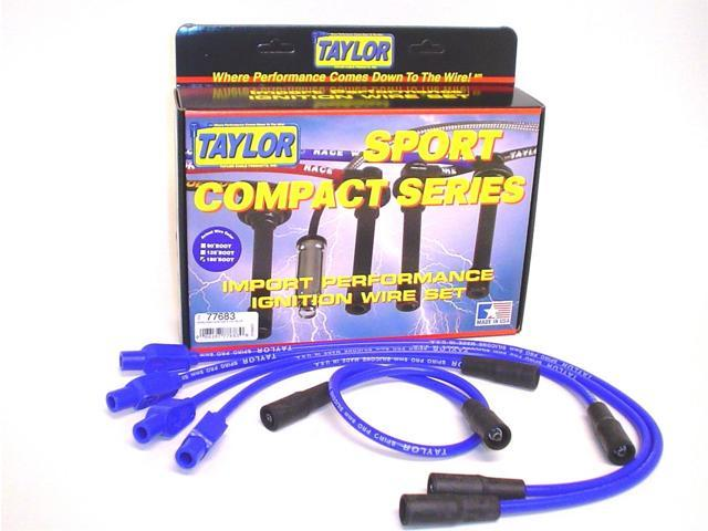 Taylor Cable 77683 8mm Spiro Pro Ignition Wire Set Fits 93-00 Cabrio Golf Jetta