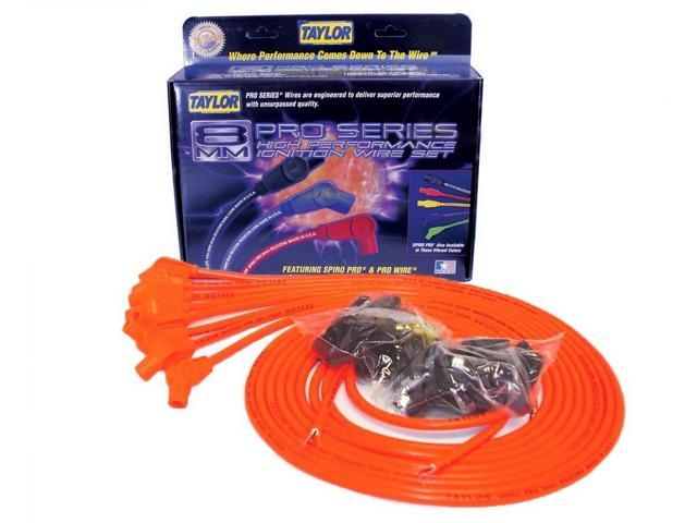 Taylor Cable 78353 8mm Spiro Pro Ignition Wire Set