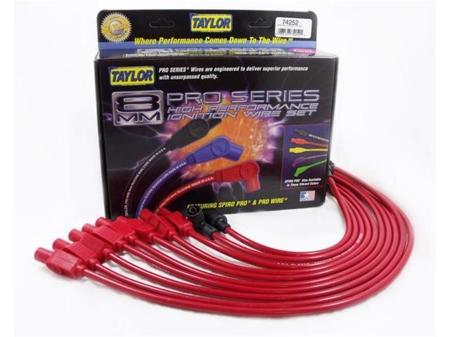 Taylor Cable 74252 8mm Spiro Pro Ignition Wire Set