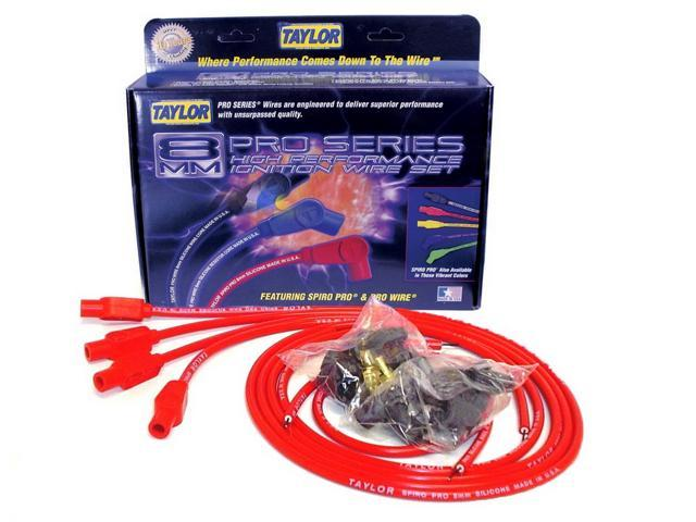 Taylor Cable 73235 8mm Spiro Pro Ignition Wire Set