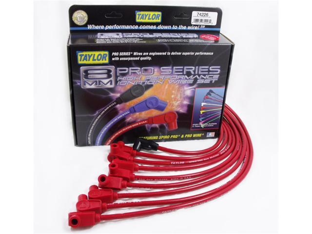 Taylor Cable 74226 8mm Spiro Pro Ignition Wire Set Fits 93-95 Camaro Firebird