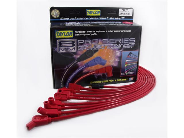 Taylor Cable 74272 8mm Spiro Pro Ignition Wire Set
