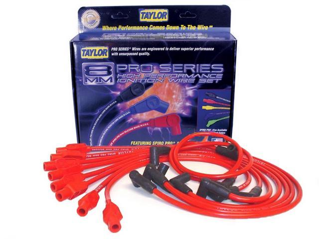 Taylor Cable 74276 8mm Spiro Pro Ignition Wire Set