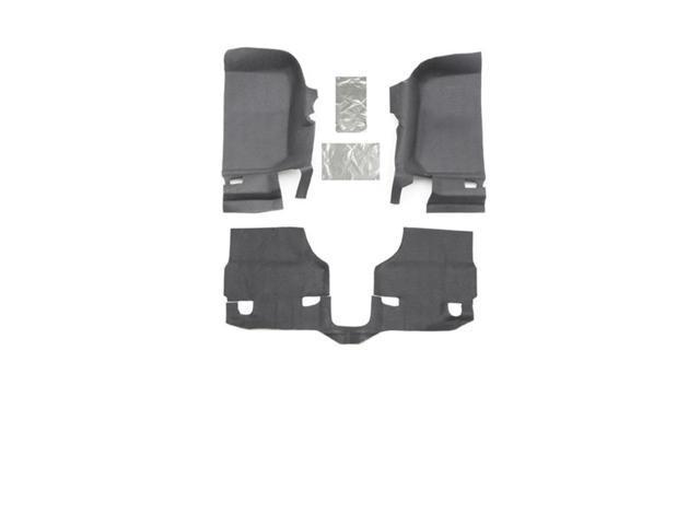 BedRug BTJK07F2 BedTred Floor Kit Fits 07-10 Wrangler (JK)