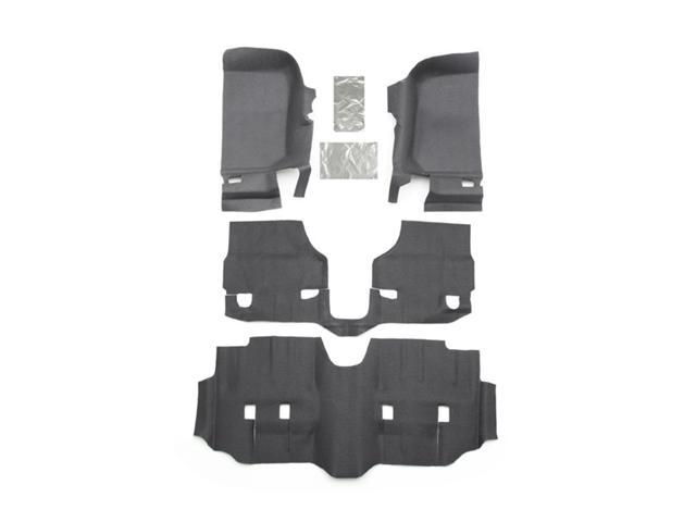 BedRug BTJK07F4 BedTred Floor Kit Fits 07-16 Wrangler (JK)