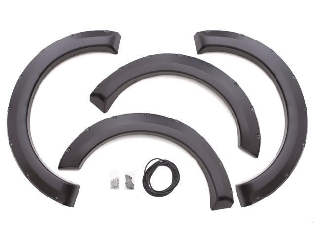 Lund RX311S Rivet Style; Fender Flare Set Fits 99-07 F-250 F-250 Super Duty