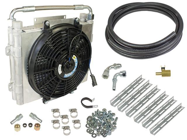 BD Diesel 1030606-DS-12 Xtrude Double Stacked Auxiliary Transmission Cooler