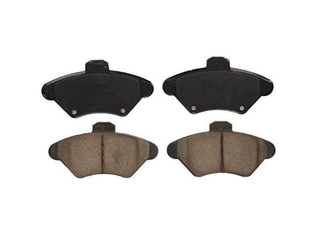 Wagner QuickStop ZD600 Ceramic Disc Pad Set, Front