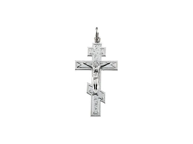 Sterling Silver St Andrew Cross 40.25 X 21.25 Mm