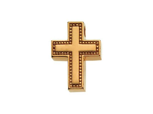 14K Yellow Gold Religious Cross