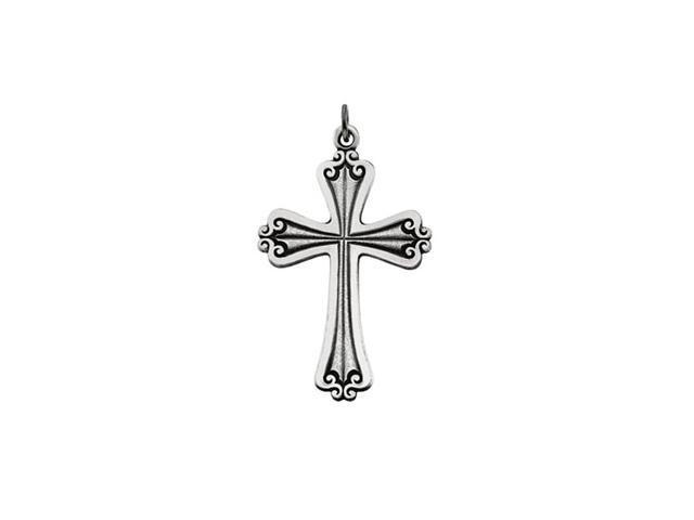 Sterling Silver Cross Pendant  15.1