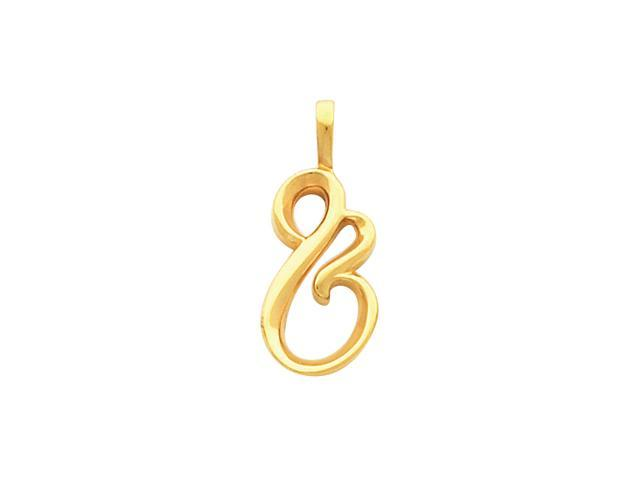 14K Yellow Gold Metal Fashion Pendant  2.6