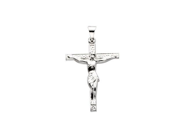 8K Yellow Gold Cross W/ Crucifix 2 4. 6X9. 3