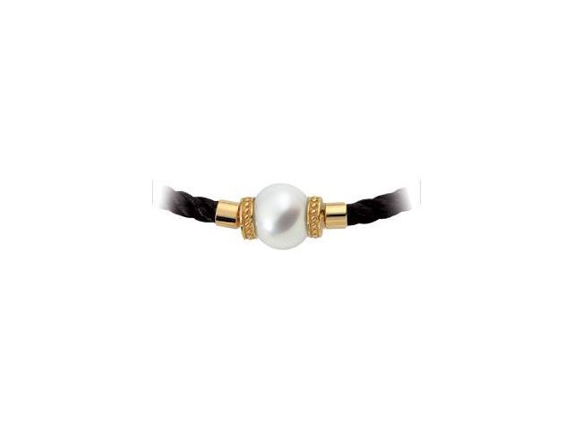 18K Yellow Gold South Sea Cultured Pearl Swap 13.00 Mm Fine