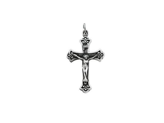 Sterling Silver Crucifix Pendant  11.2