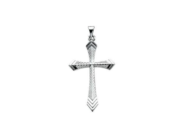 Platinum Cross Pendant  3.4