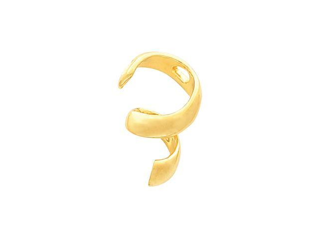 14K Yellow Gold Pendant Enhancer  5.3