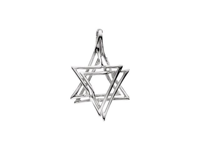 14K Yellow Gold Star Of David 30.25X20.00 Mm