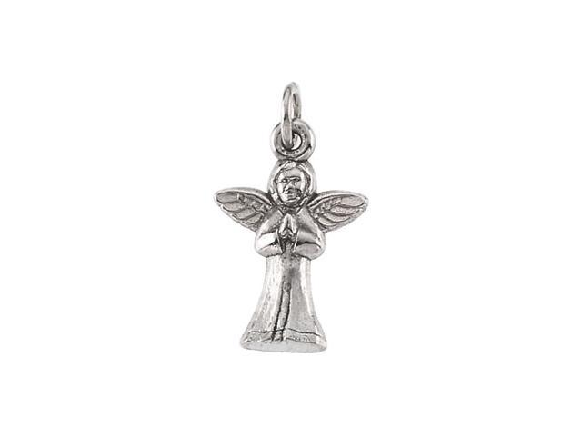 14K Yellow Gold Praying Angel Pendant