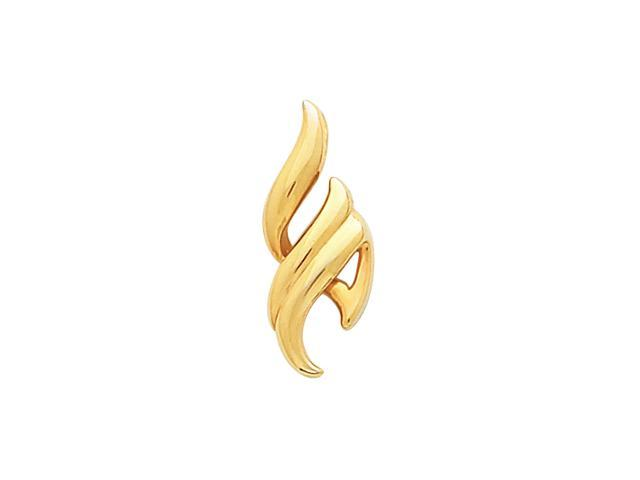 14K Yellow Gold Metal Fashion Pendant  3.7