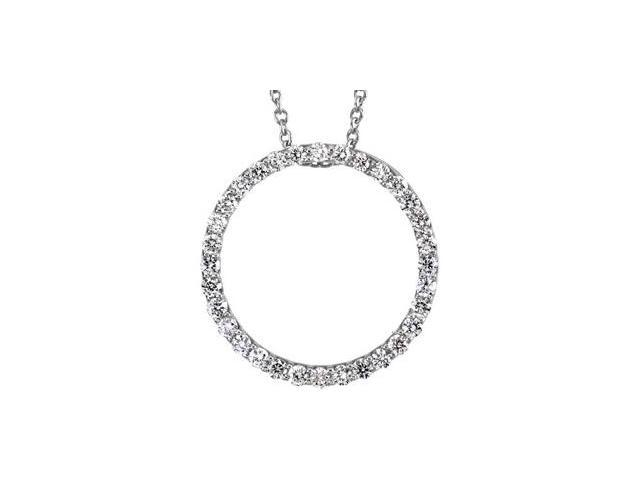 Platinum Diamond Pendant  2.9
