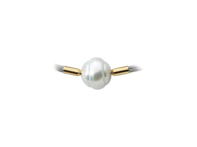 18K Yellow Gold South Sea Cultured Pearl Swap 10.00Mm Fine Circle