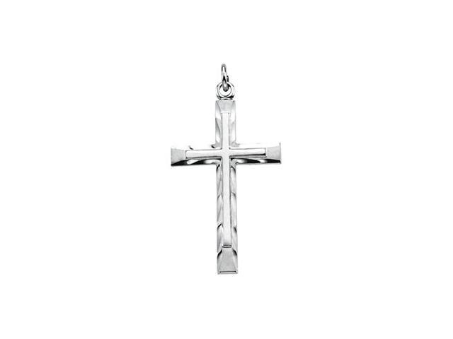 Sterling Silver Cross Pendant  4.3