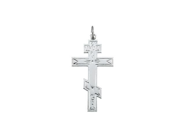 Sterling Silver St Andrews Cross 37.00 X 21.25 Mm