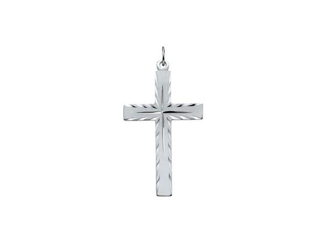 Sterling Silver Cross Pendant  12