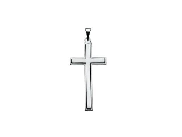 Platinum Cross Pendant  4.5