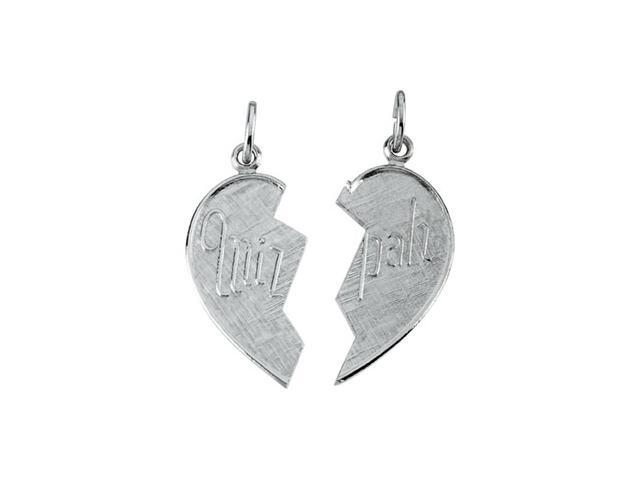 Sterling Silver Miz Pah Pendant 25X13.75
