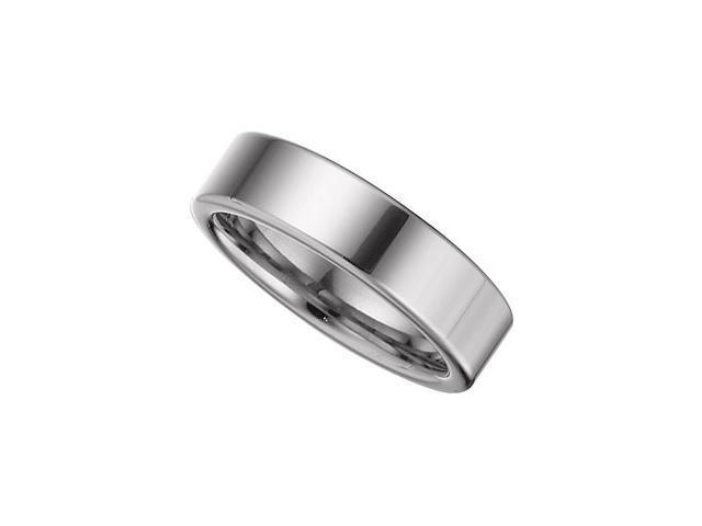 6.3MM Dura Tungsten Flat Band Size 9.5